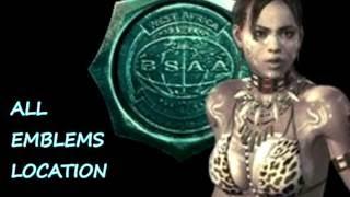 Resident Evil 5 Remastered HD PS4: All 30 Hidden BSAA Emblem L…