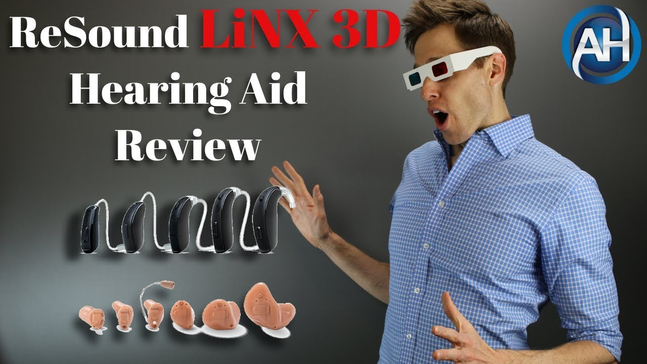 ReSound LiNX 3D Hearing Aid Review | Direct iPhone Bluetooth Technology