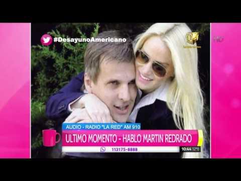 Martín Redrado habló sobre la presunta crisis con Lulciana Salazar: Estamos bien