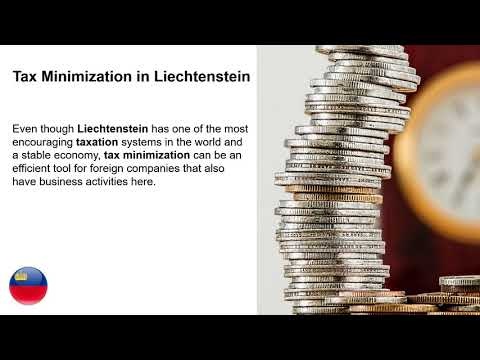 Tax Minimization in Liechtenstein