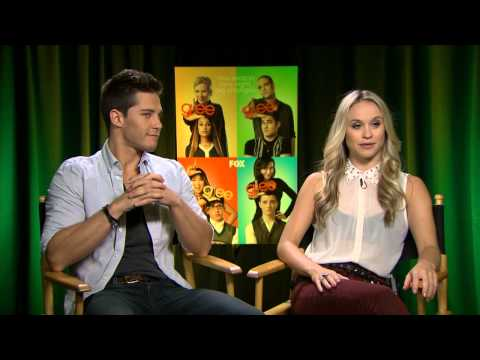 Glee   with Dean Geyer and Becca Tobin