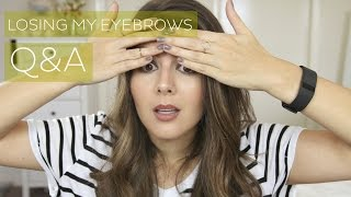 LOSING MY EYEBROWS // Q&A (Part 2) // Rachael Jade