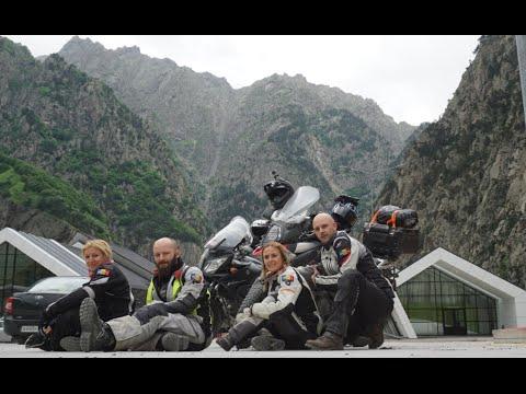 Georgia (Caucasus) Motorcycle Adventure EP3/5 Tbilisi Gudauri Telavi