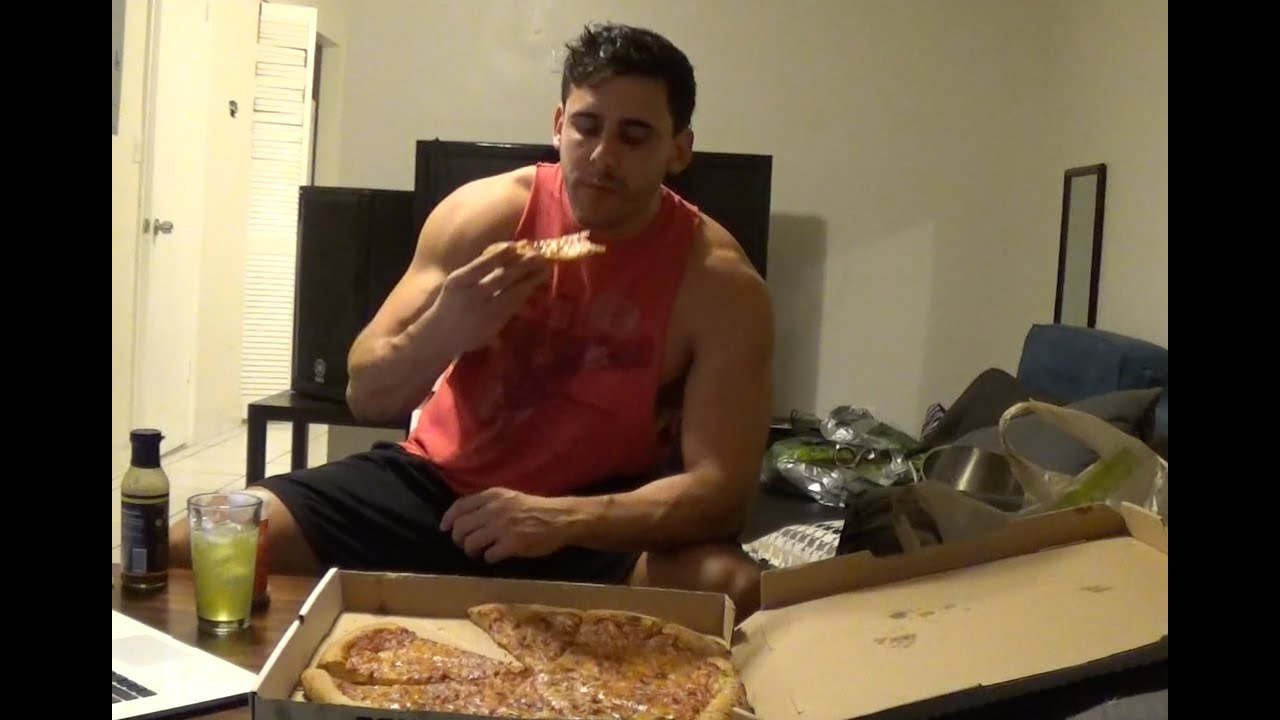 Forever Alone Pizza Party Aka Eating Challenge Training