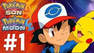 Pokemon Sun and Moon Gameplay Walkthrough Part 1 - HELLO ALOLA!! (3DS Gameplay - Special Demo)