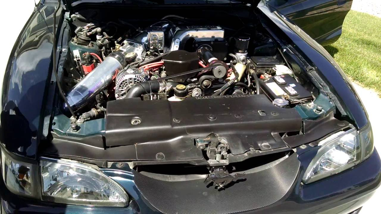 Jim's 1995 Mustang Kenne Bell Supercharged 5 0 Convertible