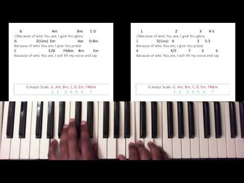 Because Of Who You Are Chords Ver 2 By Martha Munizzi Worship Chords