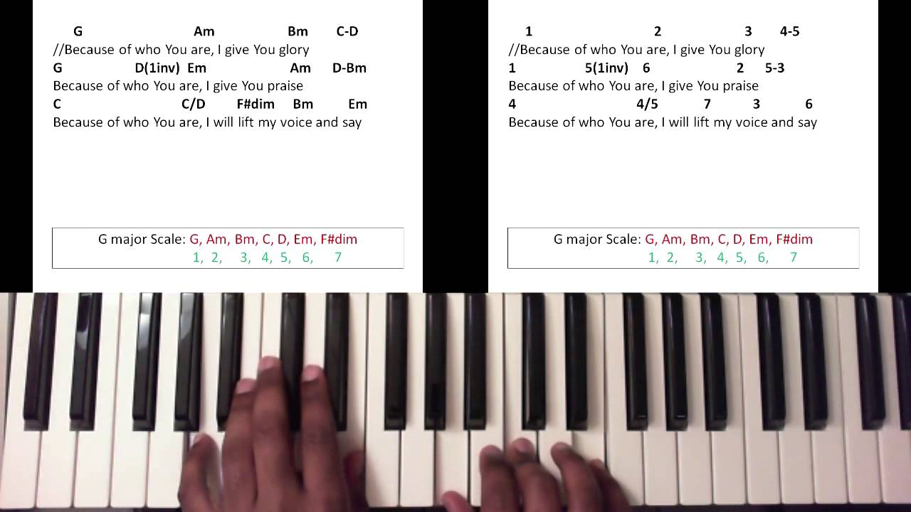 Because of who you are martha munizzi piano tutorial youtube hexwebz Image collections