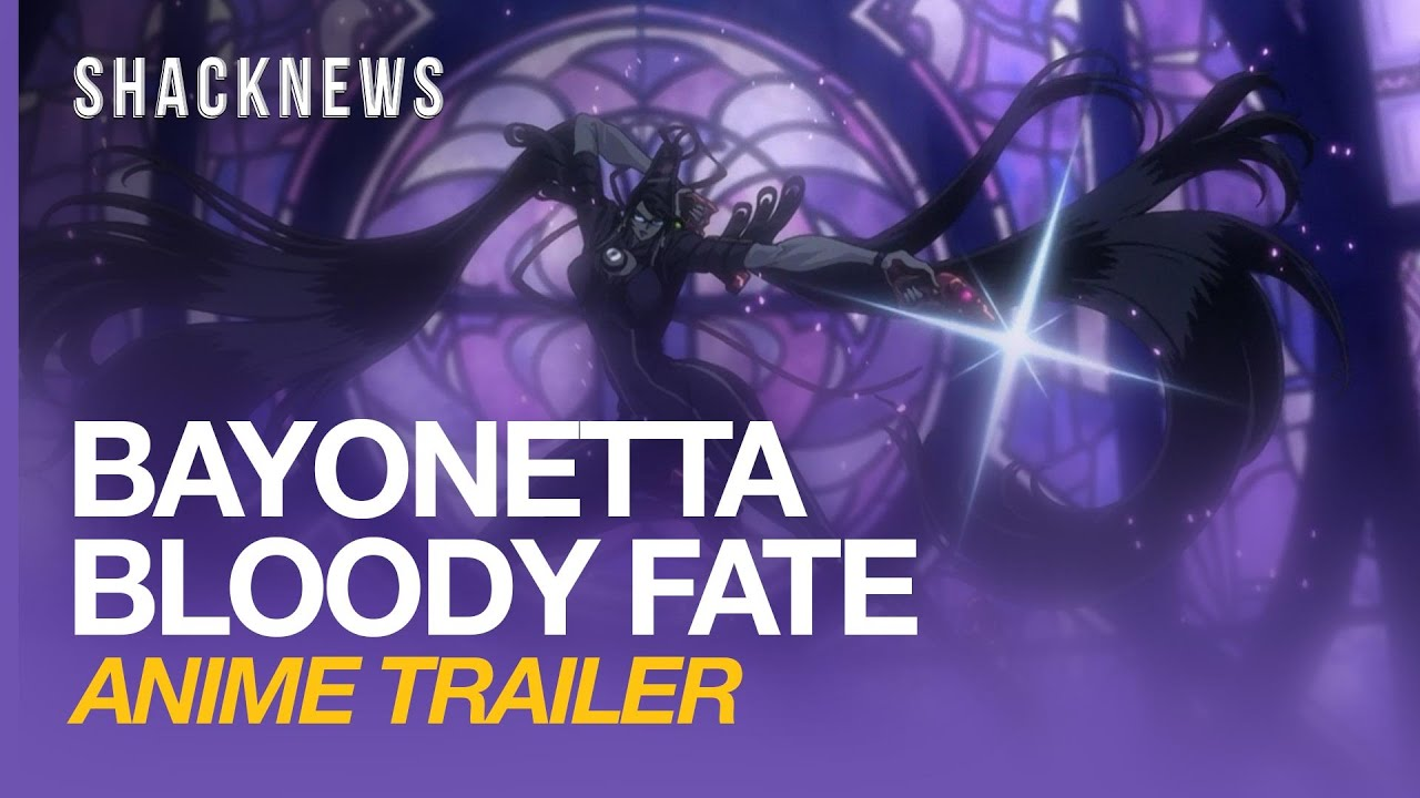 Bayonetta: Bloody Fate anime trailer