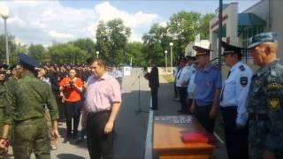 Рязань: казакам вручают удостоверения дружинников(, 2014-11-17T21:29:05.000Z)