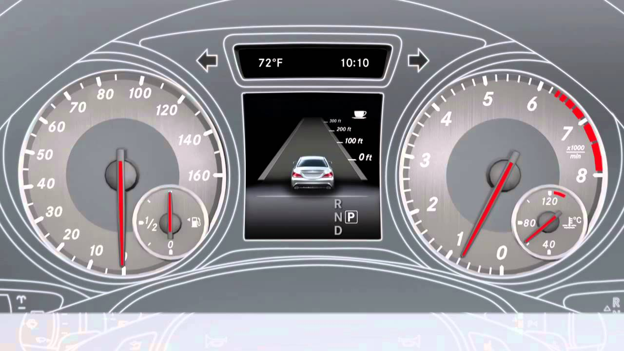 Cla class attention assist mercedes benz usa owners for Mercedes benz attention assist