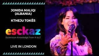 ESCKAZ in London: Jonida Maliqi - Albania - Ktheju tokës (at London Eurovision Party 2019)