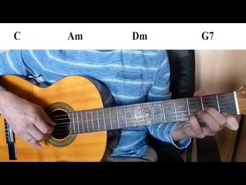 Heart and Soul - Easy Guitar melody tutorial + TAB Guitar lesson
