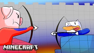 CELOPAN VS SARINHA | AZUL CONTRA ROJO | GAMEPLAY TURF WARS MINECRAFT PVP