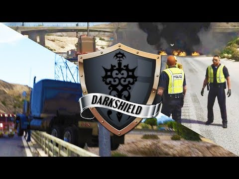 GTA 5 Roleplay | DarkshieldRP - Hanging by a thread (Law Enforcement)