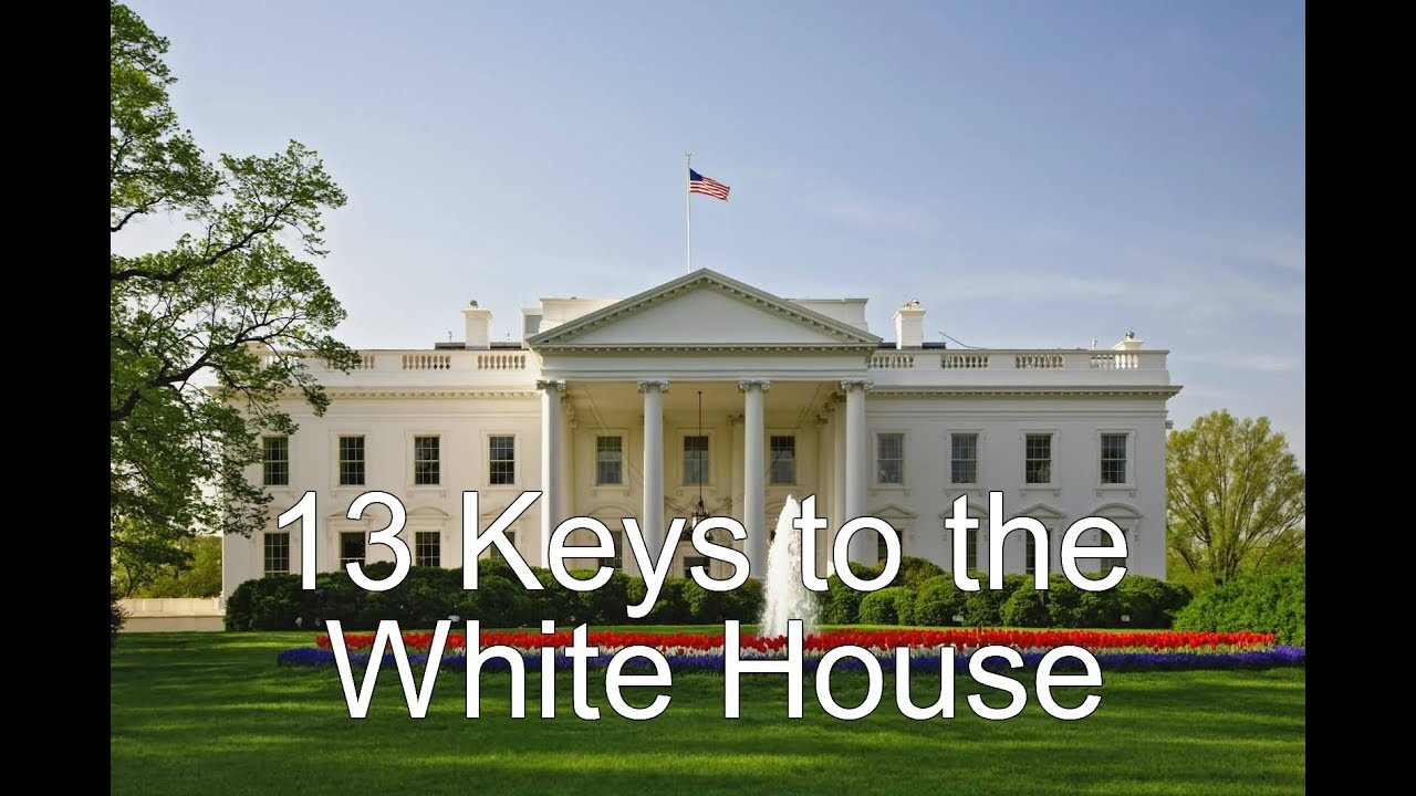 "13 Keys to the White House ""Will Donald Trump win in 2020?"""