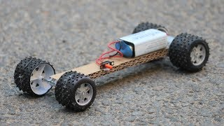 How To Make a Electric Car - Powerful Electric Toy Car