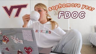 FIRST DAY OF *online* COLLEGE VLOG 2020 | Virginia Tech