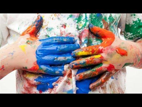 Как можно удалить краску с одежды в домашних условиях