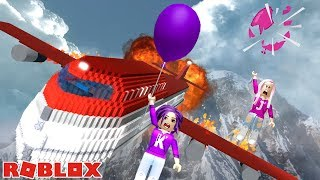 Download Lagu SURVIVE A PLANE CRASH ON FIRE ONTO VIP ISLAND! ✈️ / Roblox mp3