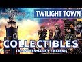 Kingdom Hearts 3 - Twilight Town All Collectible Locations (Lucky Emblems & Treasures)