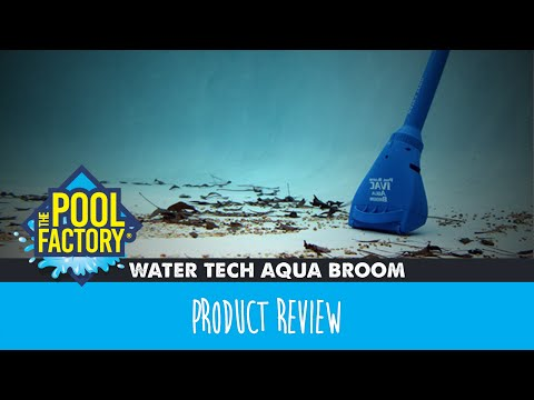 Water Tech Pool Blaster Aqua Broom Youtube