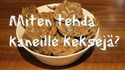Miten tehdä kaneille keksejä? | Iinan Kanila