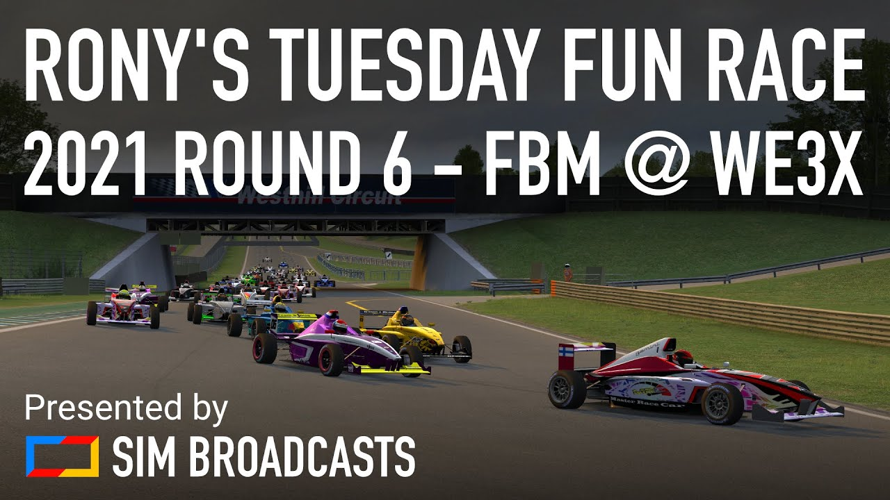 Download 250th Rony's Tuesday Fun Race - 2021 Round 6   Live for Speed