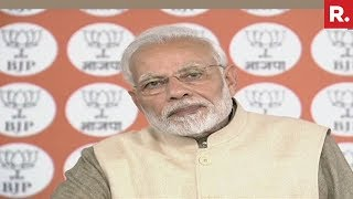 PM Narendra Modi Interacts With Booth Level Workers From Tamil nadu