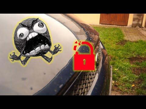 Ford S-Max 2007, Mondeo MK4, Galaxy 2007 – Bonnet opener repair – DIY