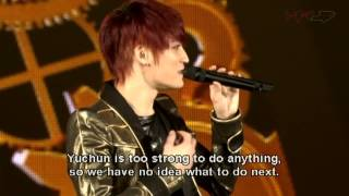 JYJ Concert in Tokyo Dome 2013 - Opening Talk (Eng sub)