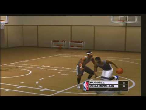 NBA Live 2003 ONE ON ONE Bill Russell vs Wilt The Stilt Chamberlain