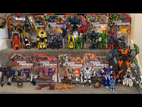 Transformers Fall of Cybertron Toyline Loose and Boxed Review by Toys Are Russ