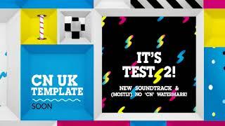 Cartoon Network Plus | CN İNGİLTERE Şablon | Test #2