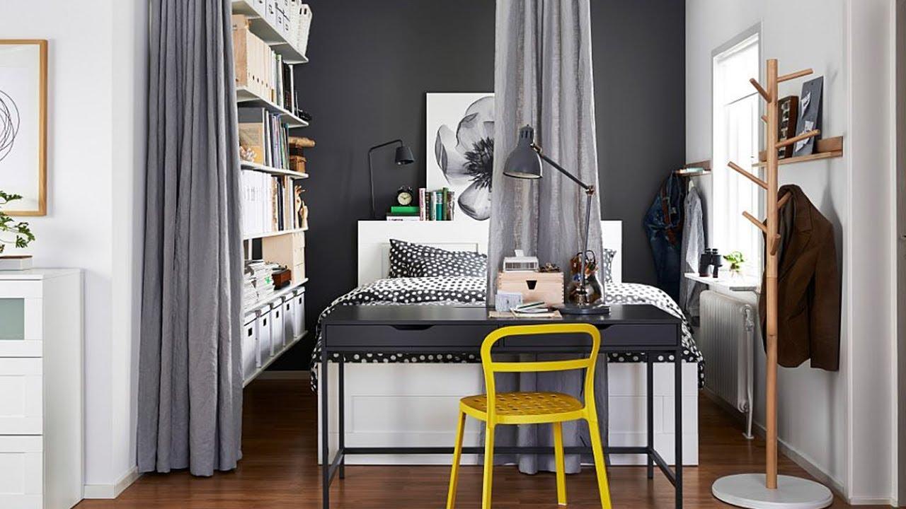 Ikea Small Bedroom Ideas Youtube