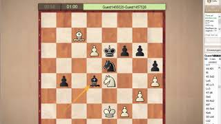 How Can White Lose This 148 Move Thriller? Sicilian/Moscow Defense