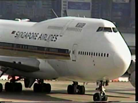 Classic Kai Tak Airport Video 2
