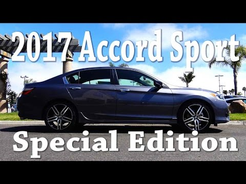 2017 honda accord sport special edition review youtube. Black Bedroom Furniture Sets. Home Design Ideas