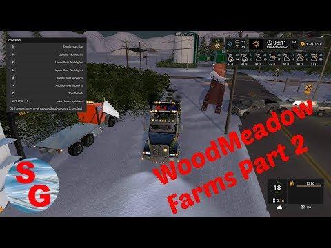 Wood meadow Farm | Part 2 | Heavy Rescue | Fs17 Mods