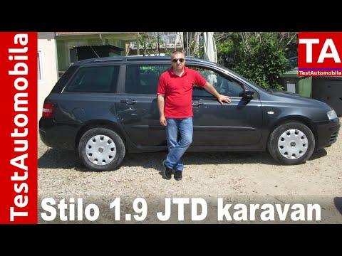 FIAT Stilo 1.9 JTD karavan TEST