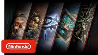 Baldur's Gate, Neverwinter Nights, Planescape: Torment & Icewind Dale - Trailer - Nintendo Switch