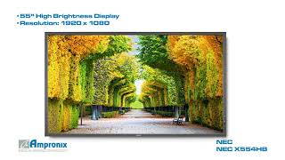монитор NEC X554HB
