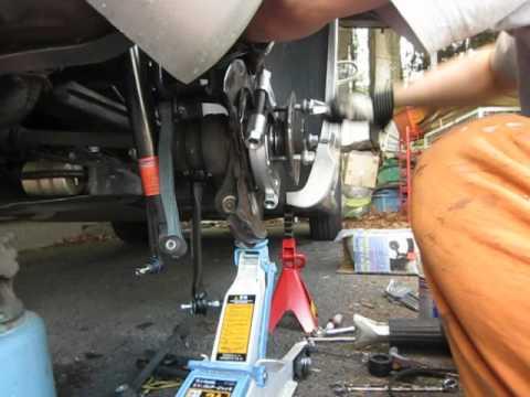 Benz Clk55 Rear Wheel Bearing Remove Youtube