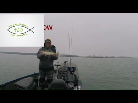 Detroit River Walleye Report 2020 No.  7 - Jigging The Detroit River For Walleye #fatboyjigs