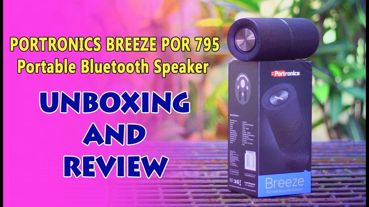 6b3dd55c217 PORTRONICS BREEZE- POR 795 Unboxing & Sound Test - YouTube