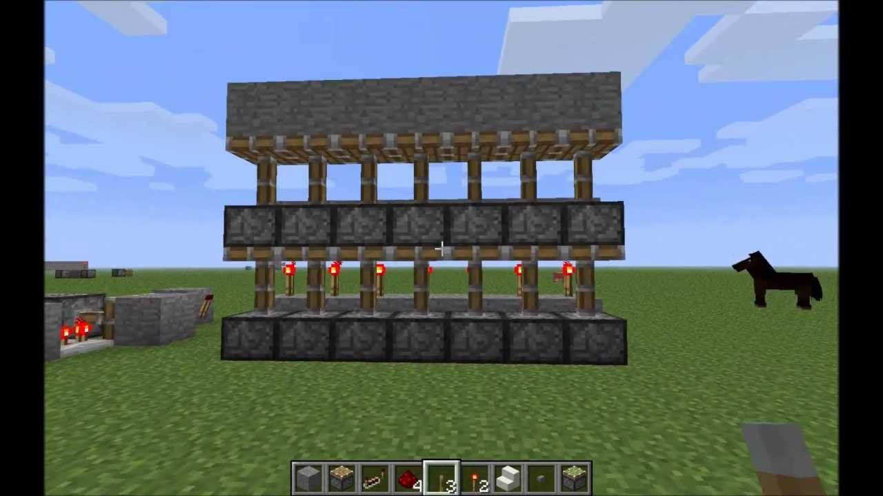 How to Make an Automatic Piston Door in Minecraft (with ...