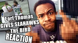 Earl Thomas Injury | Middle Finger to the Seahawks | REACTION