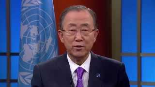International Day of Peace 2014 - Video message by UN Secretary-General Ban Ki-moon