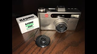 leica MINILUX Zoom - Loading Film and Battery