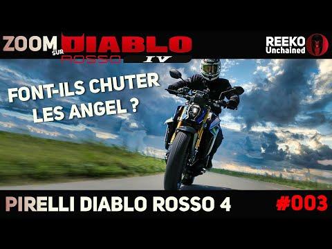 PIRELLI DIABLO ROSSO 4 vs ANGEL GT 2  🔴REEKO Unchained